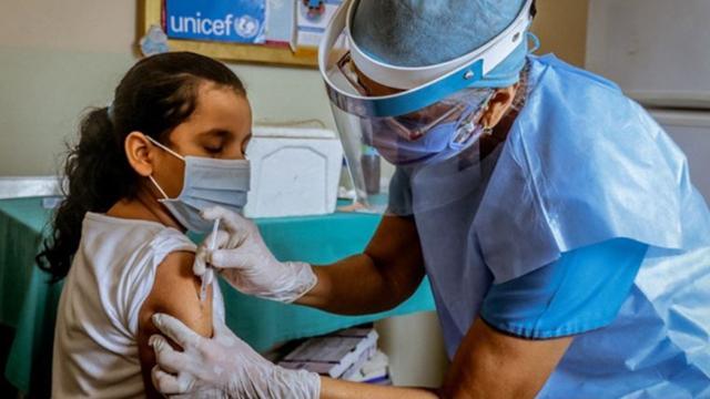 Vacunación de niños