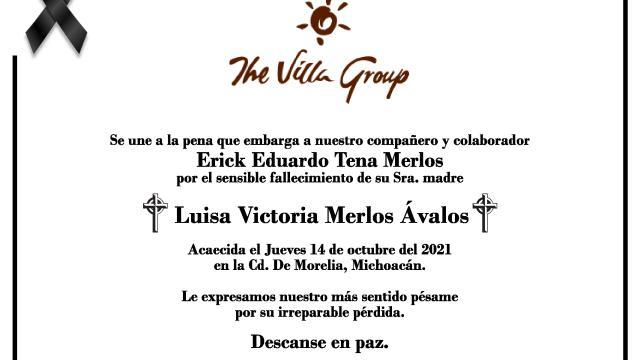 Esquela Erick Eduardo