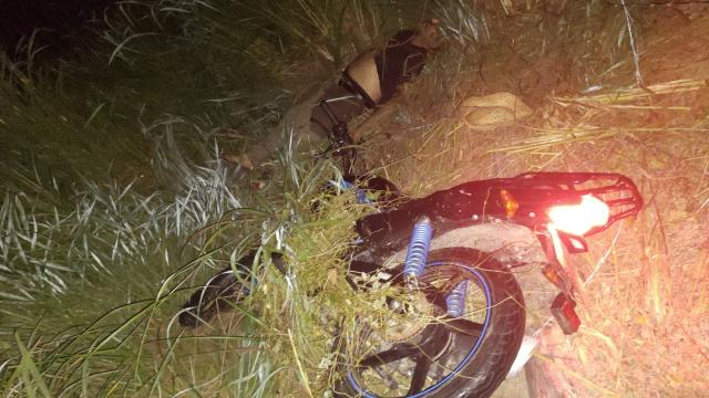 Accidente de motociclieta