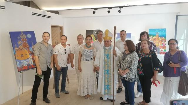Exposición inspirada en la Parroquia de Guadalupe