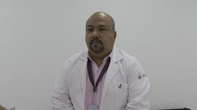 El doctor Jaime Álvarez Zayas, director de la Octava Región Sanitaria