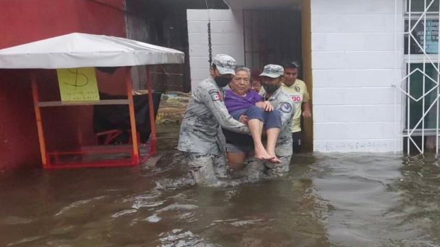 Lluvias en Veracruz