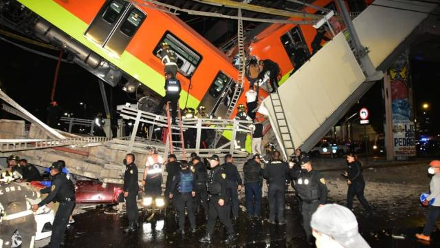 informe colapso del metro