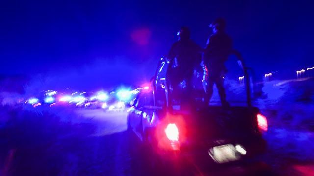 Accidente en una carretera del municipio de Ixhuatlán, Veracruz