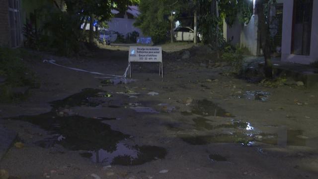 Colonia San Esteban inundada por mal trabajo de Seapal