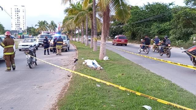 atal accidente se registró la tarde de este sábado