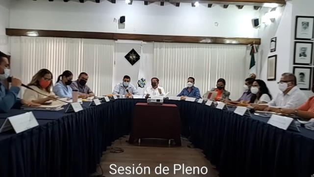 Sesión de Cabildo sin público ni prensa