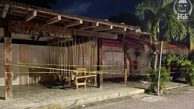 Tiroteo en bar conocido como La Malquerida en Tulum